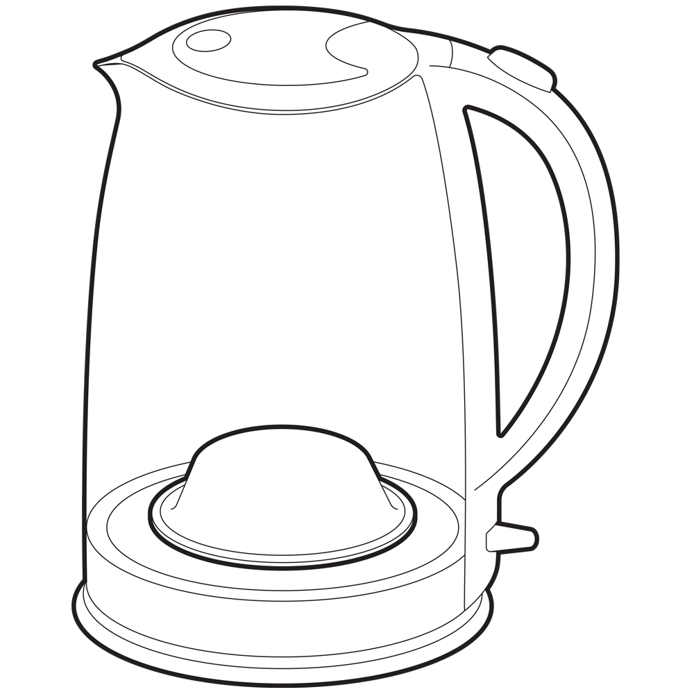 Kettle with ZeoPad